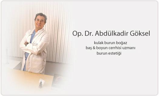 Op. Dr. Abfdilkadir Göksel